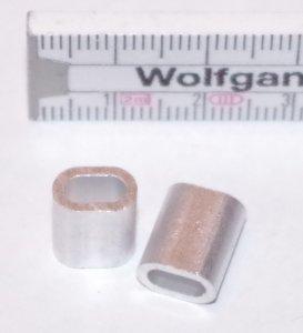 Quetschhülse für 3mm Seil